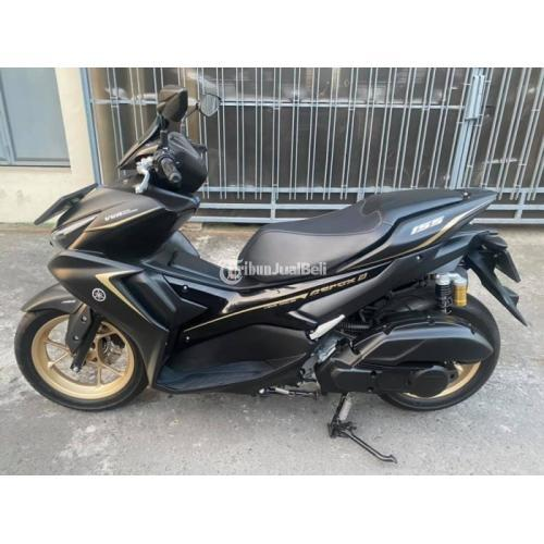 Motor Yamaha Aerox ABS 2021 Bekas KM 300 Like New Pajak Hidup - Solo