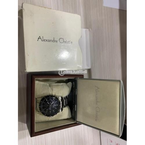 Jam Tangan Alexandre Christie 6141 Bekas Normal Surat Lengkap - Jogja