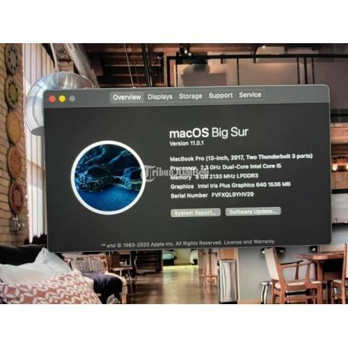 Laptop Macbook Pro 2017 Non Touch Bar Bekas Normal Aman Lengkap - Jakarta