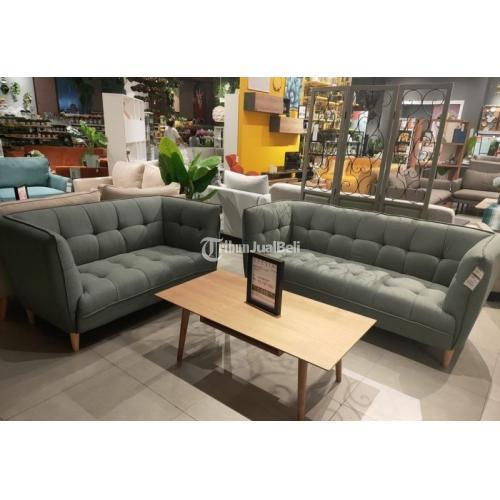 Sofa Jonna Olive Green 3+2 Seater Baru Bisa Cicilan - Bekasi