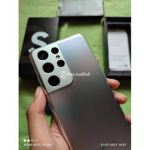 HP Samsung Galaxy S21 Ultra SEIN Bekas Mulus Like New Garansi On - Jakarta
