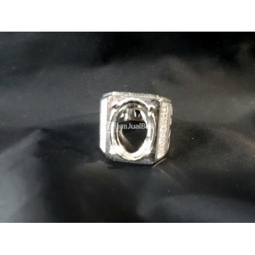 Ring Perak Hongkong 925 Micro Setting PRK047 Mewah Kombinasi Zircon Indah - Jakarta