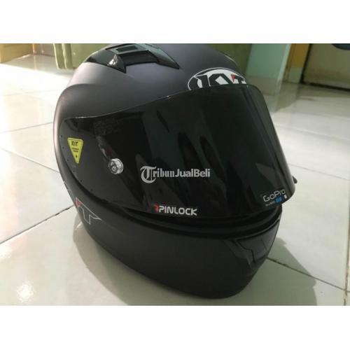Helm KYT R10 Size S + 2 Visor Flat Original Bekas Mulus Harga Nego - Makassar