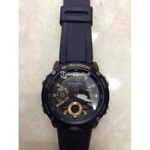 Jam Tangan G-Shock GA 2000 2ADR Fullset Bekas Mulus Garansi - Surabaya
