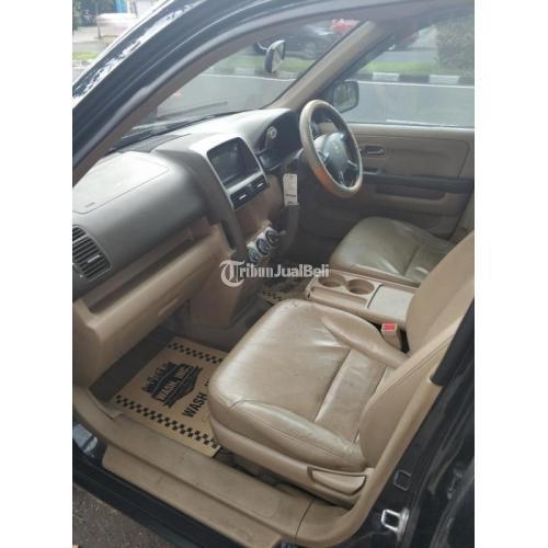 Mobil Honda CRV 2.4 AT 2005 Bekas Body Mulus Surat Lengkap - Bandung