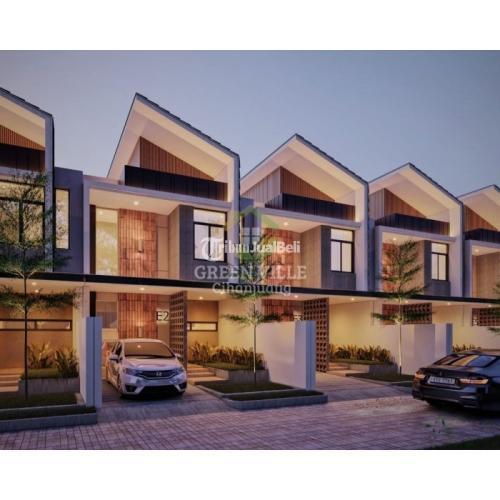Dijual Rumah Konsep Modern Tropical Minimalis di Green Ville Cihanjuang - Bandung