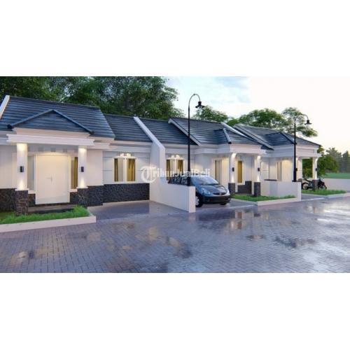 Rumah Tipe 55 3KT 1KM Baru Harga Murah Barat Pasar Payungan - Bantul