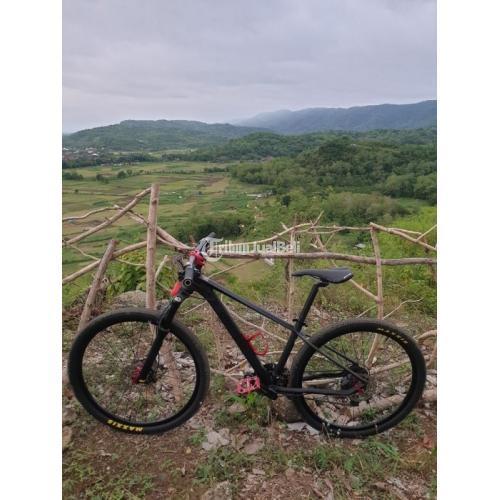 Sepeda MTB United SL7 Size S Black Bekas Upgrade Normal - Jogja