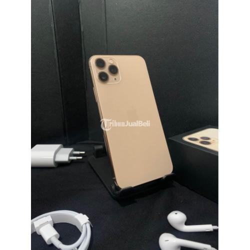 HP Apple 11 Pro 64GB Gold Bekas Like New Fullset Mulus Normal Harga Nego - Semarang