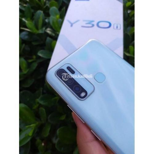 HP Vivo Y30i Ram 4GB/64GB Fullset Baterai 5000mAh Bekas Harga Nego - Padang