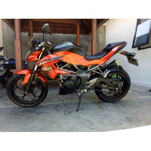 Motor Kawasaki Ninja Z250SL 2018 250cc Bekas Low KM Harga Nego - Denpasar