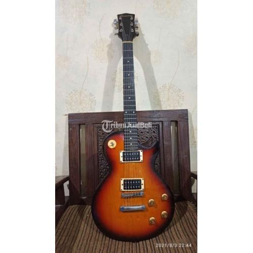 Gitar Elektrik Les Paul Merk Kimberly Second Fungsi Normal Mulus - Jakarta Timur