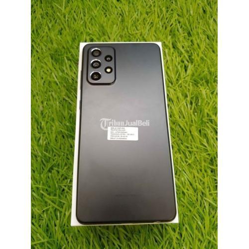HP Samsung A72 8/128GB Resmi SEIN Like New Normal Fullset - Ciledug
