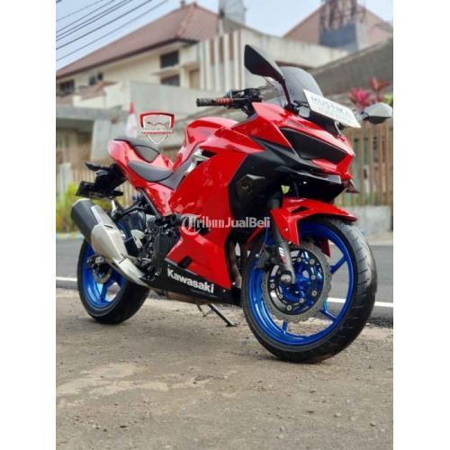 Motor Kawasaki Ninja 250 2018 Mesin SNI Bekas Surat Lengkap - Malang