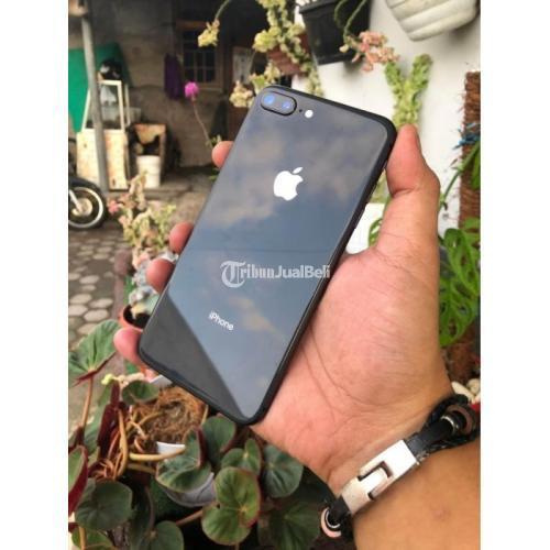 HP iPhone 8 Plus 64GB Ex iBox Fullset Bekas Baterai 91% Mulus - Sleman