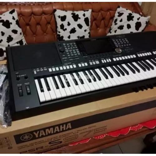 Keyboard Yamaha PSR S975 Full Set & Like New Suara Articulation Voice - Bekasi