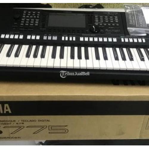 Keyboard Yamaha PSR-S775 Fullset Bekas Like New - Bekasi