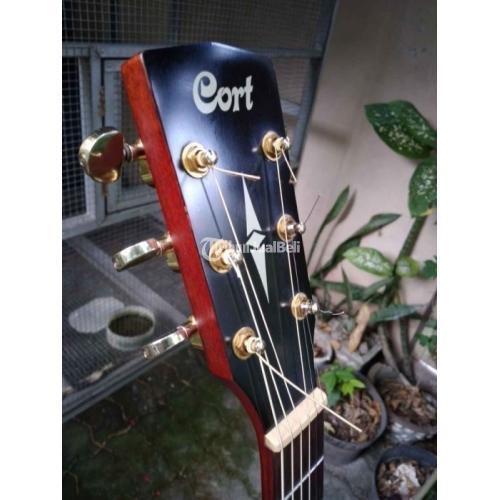 Gitar Akustik Cort AD810 E OP Original Second Normal Harga Nego - Solo