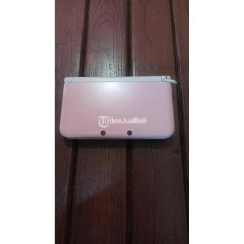 Konsol Game Nintendo 3DS LL CFW 64GB Pink Bekas Fungsi Normal - Jogja