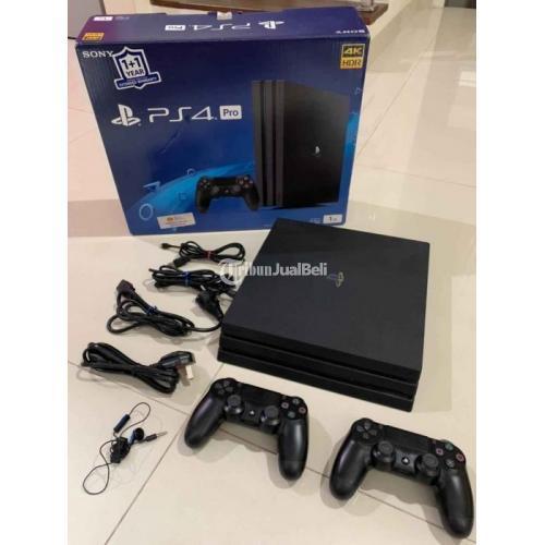 Konsol Game Sony PS 4 Pro 1 TB Resmi Bekas Like New Fullset - Jakarta