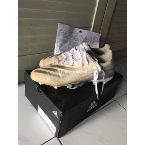 Sepatu Bola Adidas X Ghosted.3 FG Size 9 1/3 (27.5cm) Second - Solo
