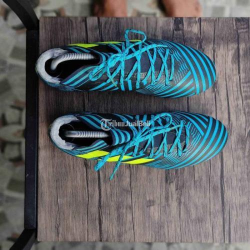Sepatu Bola Adidas Nemeziz 17.3 FG Ocean Storm Size 42 2/3 Bekas Mulus - Klaten