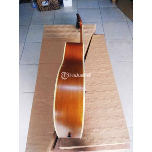 Gitar Yamaha FG-310 Jumbo Pinus Premium Tanem Besi Aktif - Depok