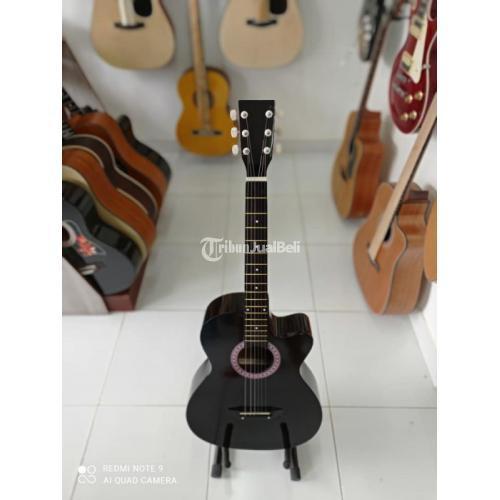 Gitar Akustik Fullset New Body Mulus No Minus Bergaransi - Badung