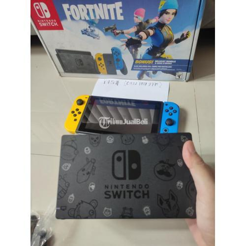 Konsol Game Nintendo Switch V2 Special Edition Bekas Like New Fullset - Bandung