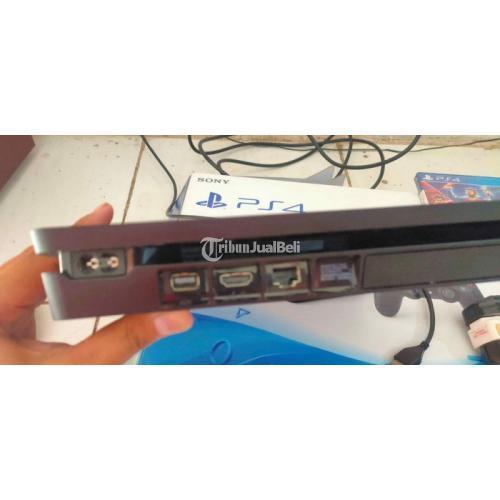 Konsol Game Sony PS4 Slim Type 2106A 500GB Bekas Like New Normal - Pasuruan