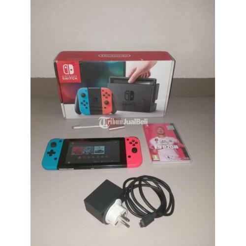 Konsol Game Nintendo Switch V1 Bekas Like New Mulus Normal - Bandung
