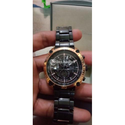Jam Tangan Alexandre Cristie 6483-G3H-HRG Bekas Like New Normal - Makassar