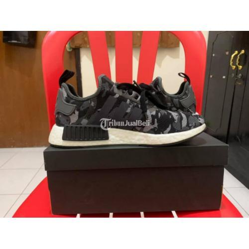 Sepatu Adidas NMD Camo Grey Three Size 42 2/3 Original BNIB - Surabaya