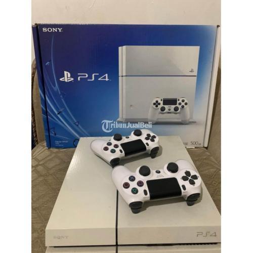 Playstation 4 Fat 500Gb Fullset Bekas Like New Normal Segel Void - Jakarta