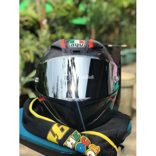 Helm AGV Pista GP Gran Premio Rosso Size XL Euro fit L Bekas Mulus Clear - Wonosobo