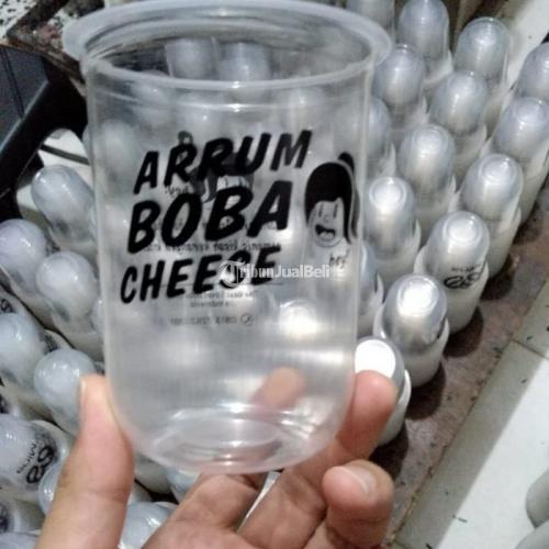 Sablon Gelas Plastik, Papercup, Paper Bowl, Cup Sealer Kopi, Thaitea, Jus Free Sedotan - Jakarta