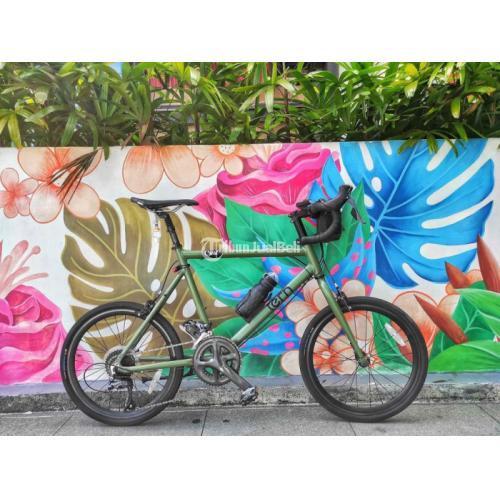 Sepeda Tern Crest Sage Minivelo Dropbar Size 50 Bekas Normal Harga Nego - Badung