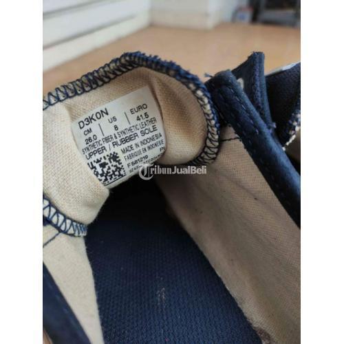 Sepatu Onitsuka Tiger Navy Original Size 8 / 41.5 Second Bagus - Surabaya