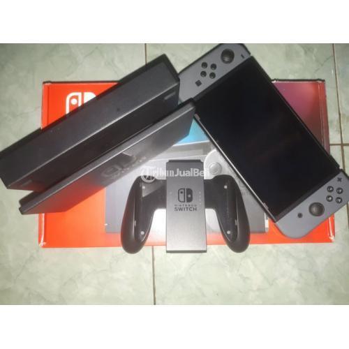 Konsol Game Nintendo Switch New Console HAC 001(-01) / V2 Bekas Like New - Tange