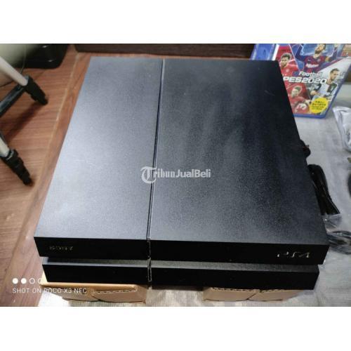 Konsol Game Sony PS4 Fat Seri 1206A 500GB Firmware 8.52 Fullset Bekas - Jakarta