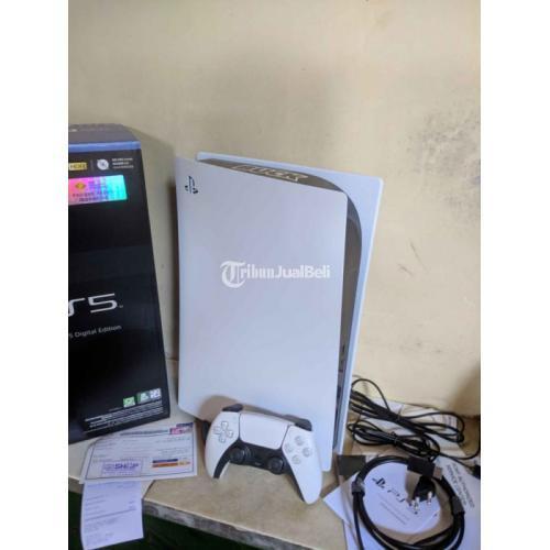 Konsol Game Sony PS5 Digital Resmi Second Like New Garansi On - Semarang