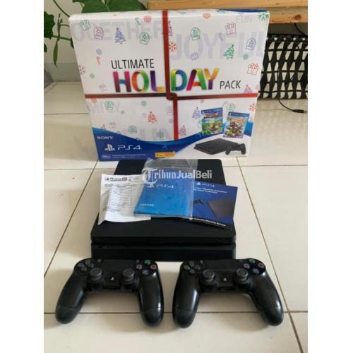 Konsol Game PS4 Slim Second 500GB Sony Indonesia Resmi - Tangerang