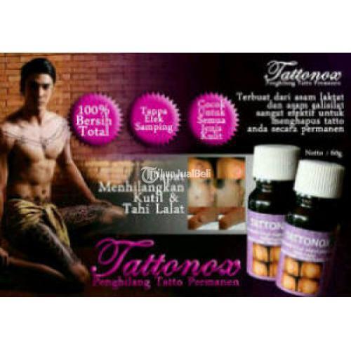 Tattonox Obat Penghilang Tatto Cairan Penghapus Tatto Temporer Maupun Permanent - Bekasi