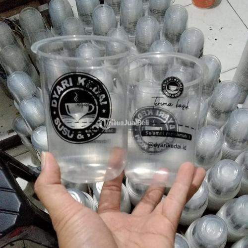 Tiga Brilliant Packaging Menerima Jasa Sablon Gelas Plastik Harga Termurah & Kualitas Terbaik - Jakarta Barat