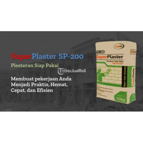SuperPlaster Sp-200 Plester Tembok Instan Terbaik - Bekasi