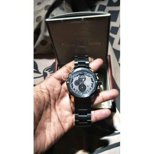 Jam Tangan Alexandre Christie 6410 Fullset Original Bekas Mulus Like New - Lamongan