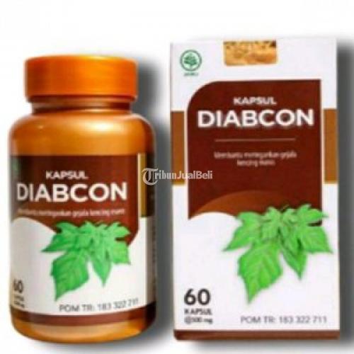 Diabcon Obat Diabeters Gula Darah Suplemen Herbal - Depok