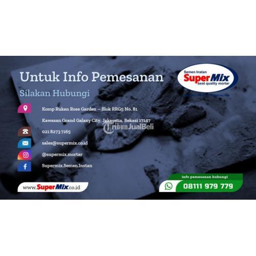Best Quality Mortar Untuk Plesteran Super Plaster Sp-200 - Bekasi