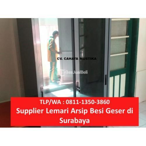 Lemari Arsip Kantor Harga Murah Kulitas Terjamin Anti Rayap - Surabaya