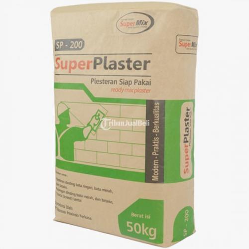 Praktis Super Plaster Sp-200 Plesteran Bata Ringan Praktis - Bekasi